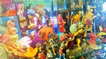People love the little Anime figures.